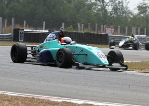 Joey Mawson, winner of Race 2 of MRF Challenge (Feb 18)