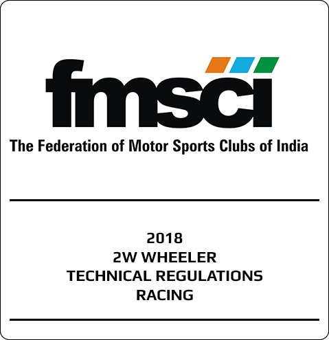 2018 – 2W Wheeler Technical Regulations Racing