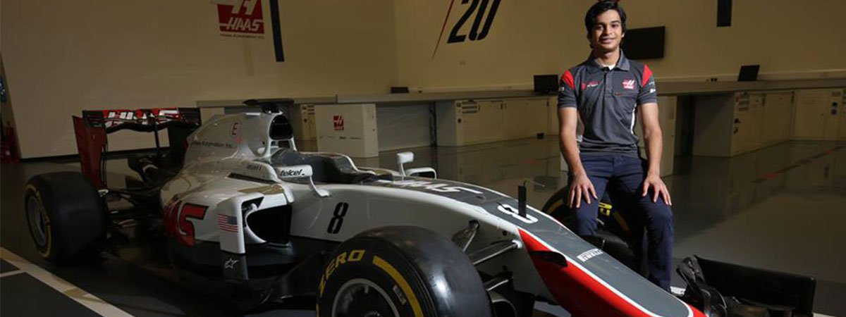 Haas F1 team signs Indian teen as development driver – FMSCI